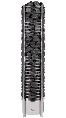 Электрическая печь SAWO TOWER TH6-120Ni-P (12 кВт, выносной пульт, встроенный блок мощности, нержавейка)