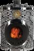 Дровяная печь Mini-IKI со стеклянной дверцей