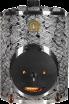 Дровяная печь Mini-IKI со стальной дверцей