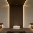 Линейный светильник Sauna Linear Glass Cariitti
