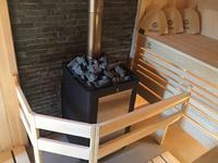 Отделка бани с печью Kastor в Талдоме