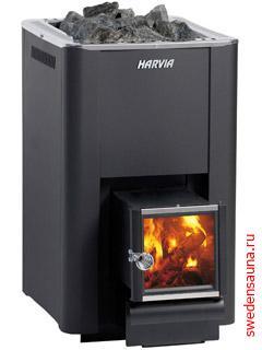 Дровяная печь Harvia 20 SL - фото, описание, отзывы.
