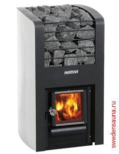 Дровяная печь Harvia Classic 280 - фото, описание, отзывы.