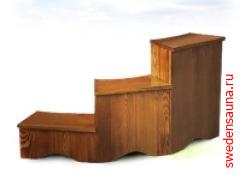 Подиум (1 вар.) из 3-х составных частей    - фото, описание, отзывы.