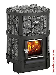 Дровяная печь Harvia Legend 150 - фото, описание, отзывы.