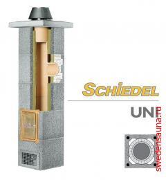 Дымоход Schiedel UNI Основание дымохода 3пм 90градусов, d140 - фото, описание, отзывы.
