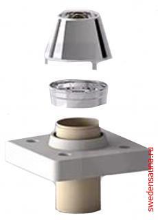 Дымоход Schiedel UNI Верхний комплект (обмуровка) - фото, описание, отзывы.