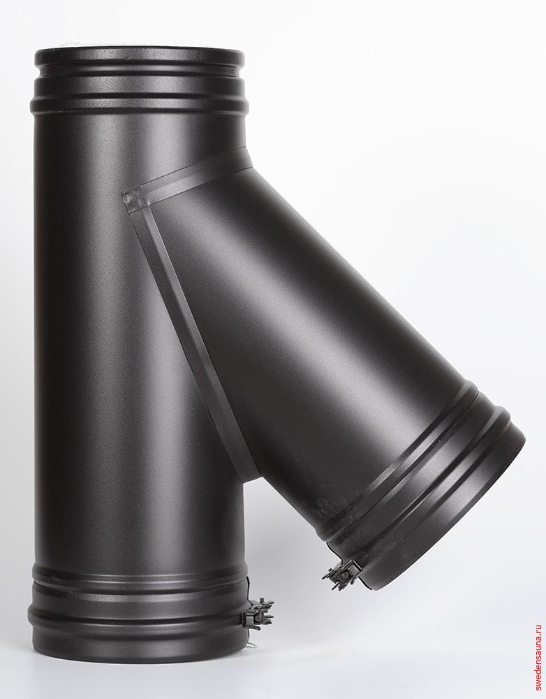 Дымоход Schiedel Permeter тройник 45° - фото, описание, отзывы.