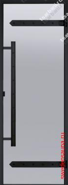 Дверь Harvia Legend STG 9×19  сосна, стекло «сатин» - фото, описание, отзывы.