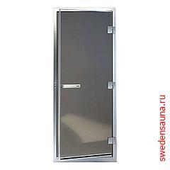 Дверь 60G (Helo) алюминий, стекло «бронза» - фото, описание, отзывы.