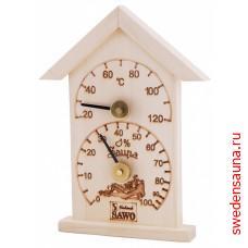 SAWO Термогигрометр 116-THA домик - фото, описание, отзывы.