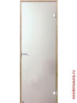 Дверь для сауны Harvia STG 8x21 сосна/сатин - фото, описание, отзывы.
