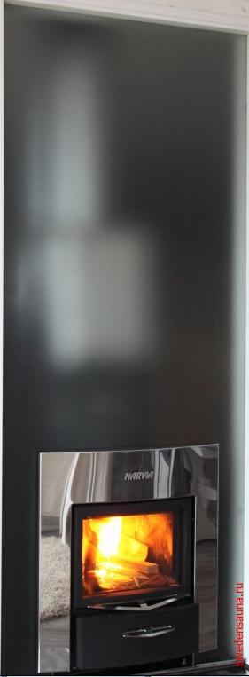 Harvia Стеклянная стена Duo 9x19 - фото, описание, отзывы.