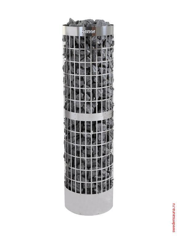 Электрическая печь Harvia Cilindro PC100E/135E-Steel  - фото, описание, отзывы.