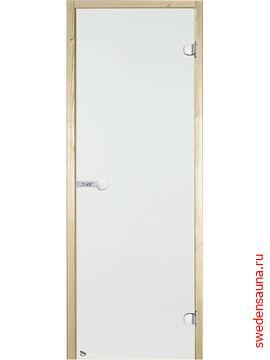 Дверь для сауны Harvia STG 7x19 сосна/прозрачная - фото, описание, отзывы.
