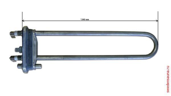 Тэн для парогенераторов Helo SEPD 99 2000 Вт/230 В - фото, описание, отзывы.