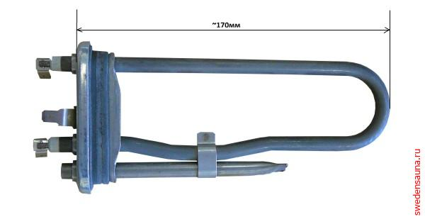 Тэн для парогенераторов Helo SEPD 112 1567 Вт/230 В - фото, описание, отзывы.