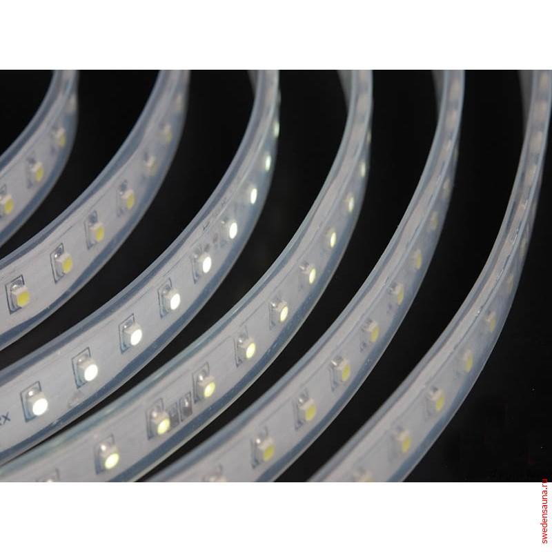 Лента светодиодная 5 метров IP68 для Хаммама и Сауны 12v - фото, описание, отзывы.