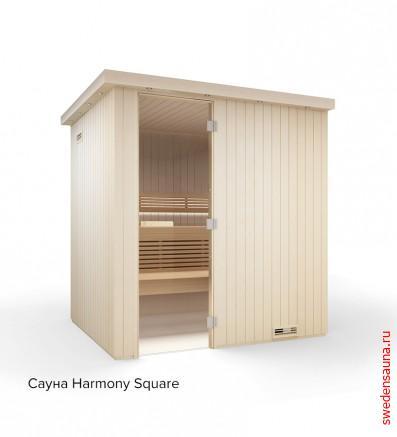 Tylo Harmony Square из осины 2180 x 2180 - фото, описание, отзывы.