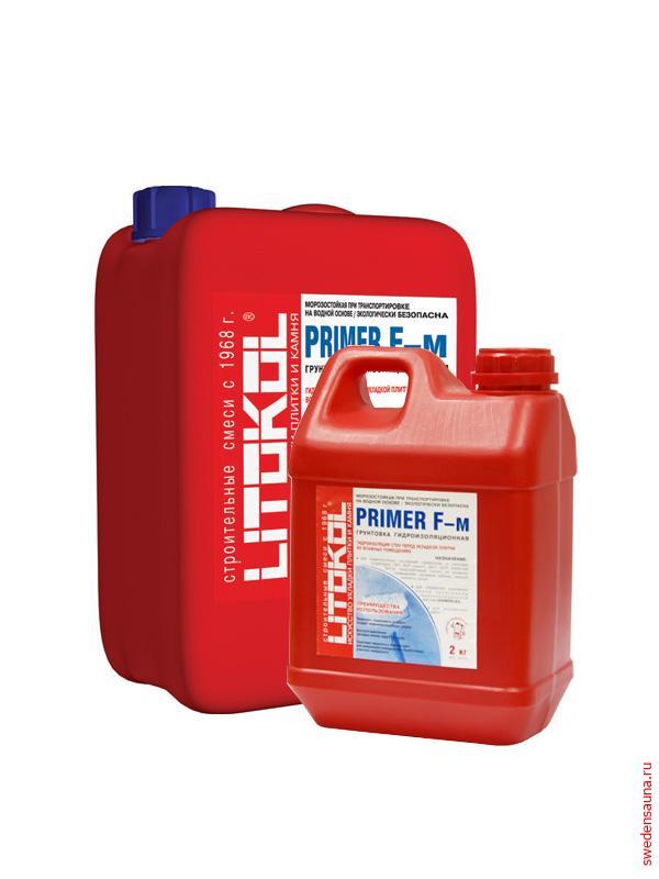 Гидроизоляционная грунтовка PRIMER F-м - фото, описание, отзывы.