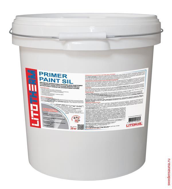 LITOTHERM Primer Paint Sil - фото, описание, отзывы.