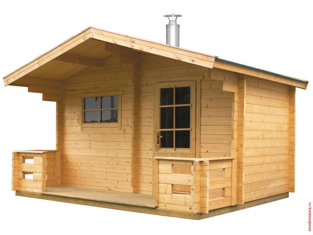Отдельно стоящая сауна Harvia Keitele SO4000 с дровяной печью - фото, описание, отзывы.