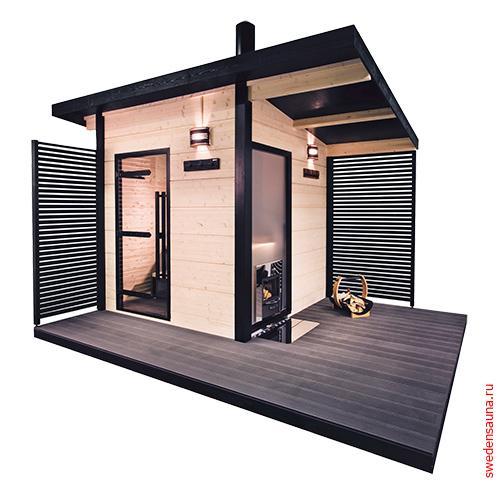 Сауна Harvia Solide Outdoor SLD01PS - фото, описание, отзывы.