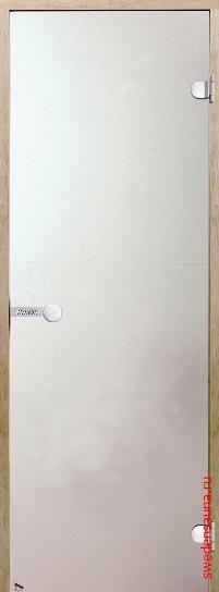 Дверь для сауны Harvia STG 9×19 коробка осина, стекло сатин - фото, описание, отзывы.