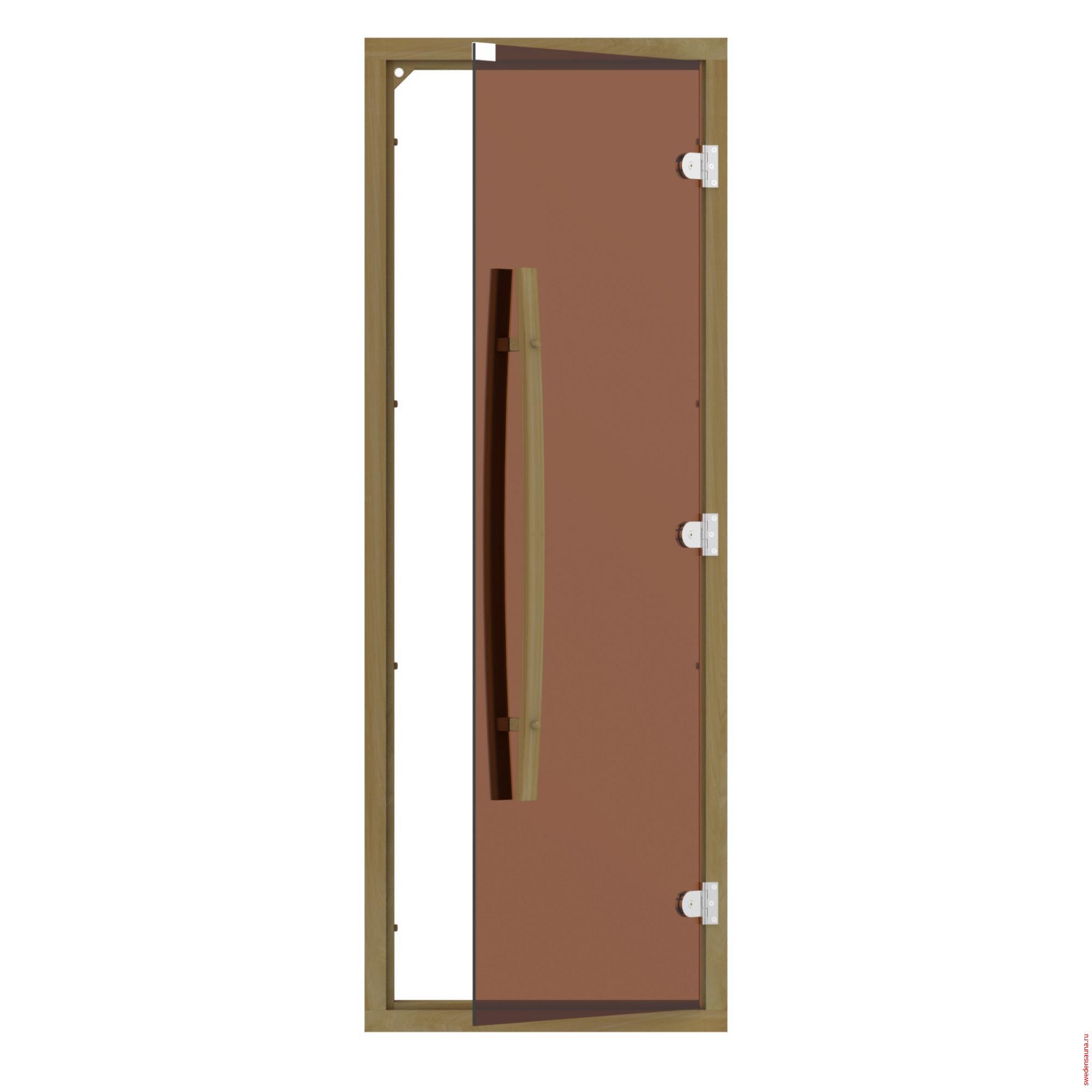 Дверь SAWO 741-4SGD-1 (7/19, кедр) - фото, описание, отзывы.