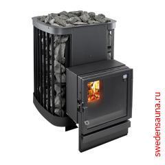 Дровяная печь Kastor Saga 30T - фото, описание, отзывы.